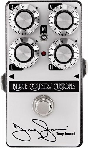 Laney Black Country Customs TI Boost Tony Iommi Signature Boost Pedal